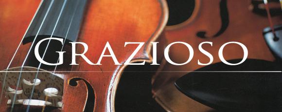 初心者&これからはじめる方にお薦めのバイオリンといえば【グラッツィオーゾ】