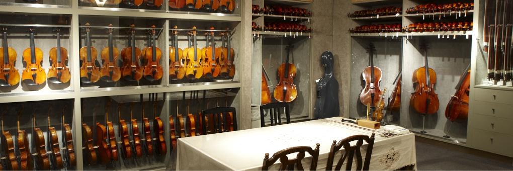 本格的バイオリン&弦楽器専門店のミュージックプラザ