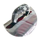 チェロ用チェストパッド(胸当てカバー)の折りたたみサイズ