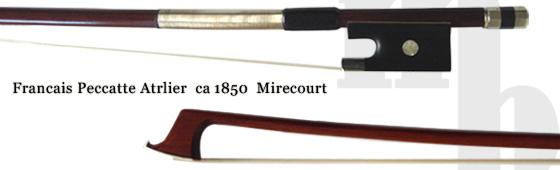 Francais Peccatte(フランシス・ペカット)のオールド・ヴィオラの弓