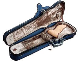 日本製 ヴァイオリンケース 紺色カラー