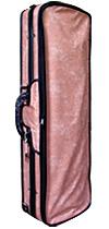 アルファ社 バイオリンケースの販売#350 大人気商品!さくら色