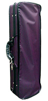 アルファ社 バイオリンケースの販売#350 濃紫色ケース