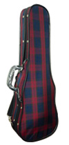 アルファ社 バイオリンケースの販売#150 赤紺チェック