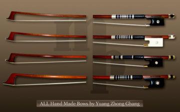 ハンドメイドの弓 販売|バイオリン ヴィオラ チェロの画像