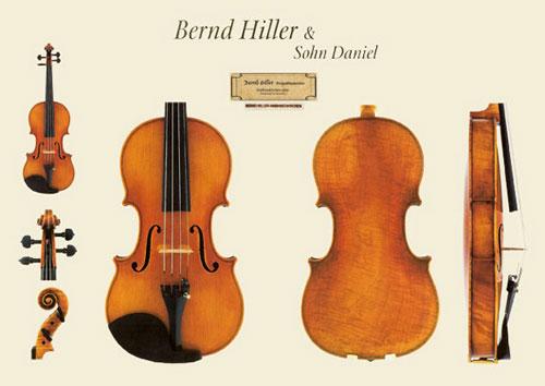 新作ドイツ ミグマ社 Bernd Hiller(ベルント・ヒラー)バイオリンの販売