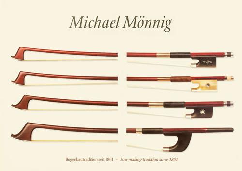 新作ドイツ Michael Mönnig(ミカエル・メーニック)バイオリンの販売