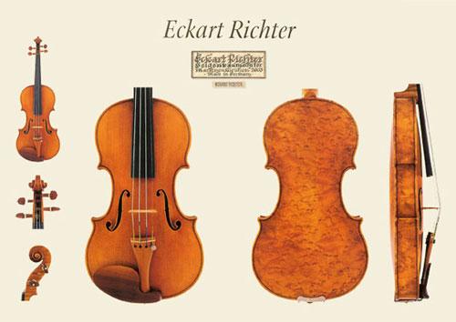 新作ドイツ Eckart Richter(エッカルト・リヒター)バイオリンの販売