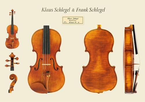 新作ドイツ ミグマ社 Klaus Schlegel(クラウス・シュレーゲル)バイオリンの販売